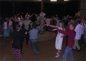 An example of the dancing at an English Ceiligh gig